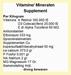 Vitamine en mineralen poeder